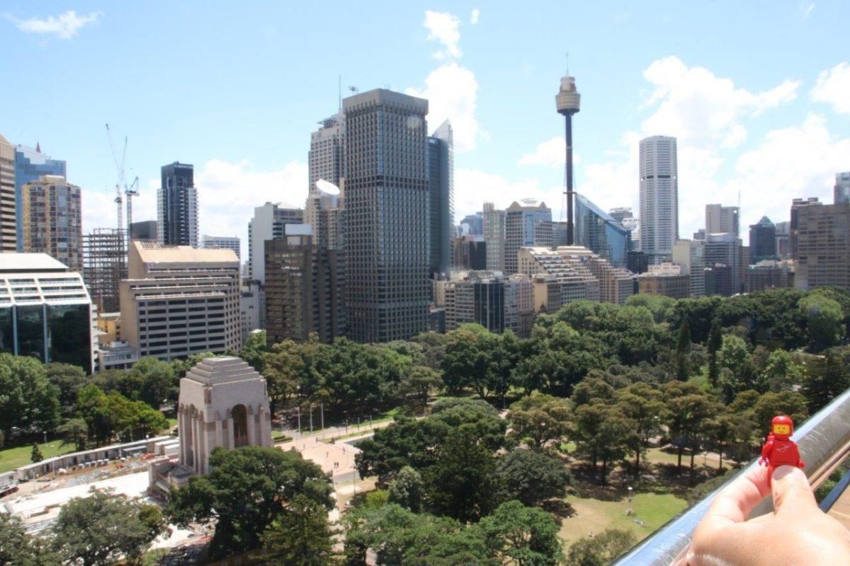 Arrivée à Sydney : Hyde Park