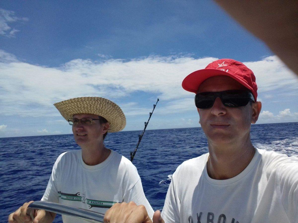 Raiatea : pêche au gros et pêche pour les petits