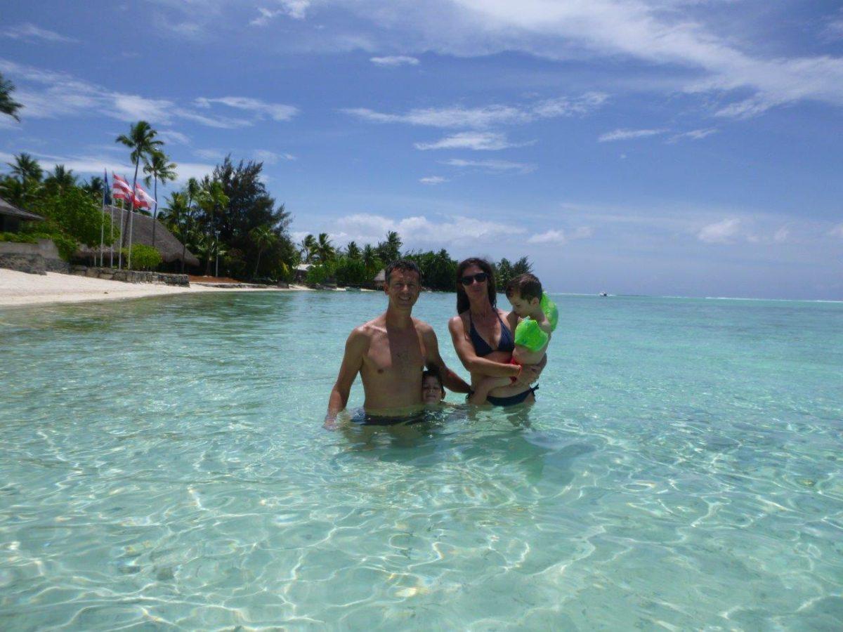Arrivée à Bora Bora et plage Matira