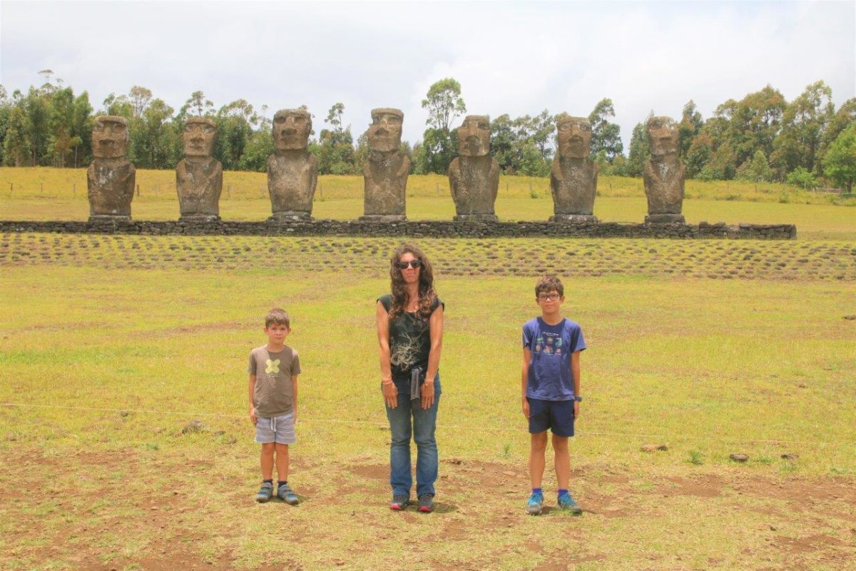 Rapa Nui : Ahu Akivi