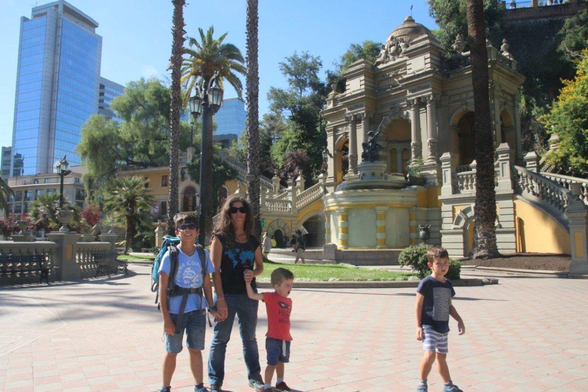 Santiago du Chili : chez Maeva et Humberto !!! Promenade au centre ville