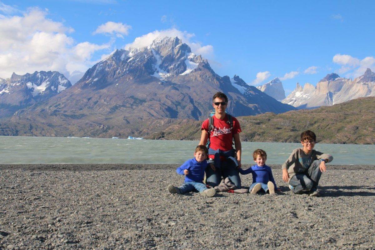 Le glacier Grey et les icebergs de Torres del Paine