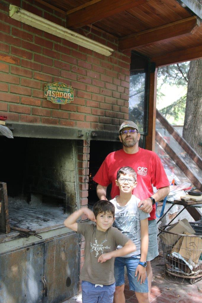 El Asado del domingo a Mendoza chez Silvina et Carlos