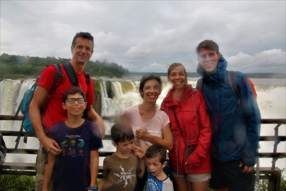 Las Cataratas del Iguazú (Les Chutes d'Iguazu) côté Argentin paseo superior