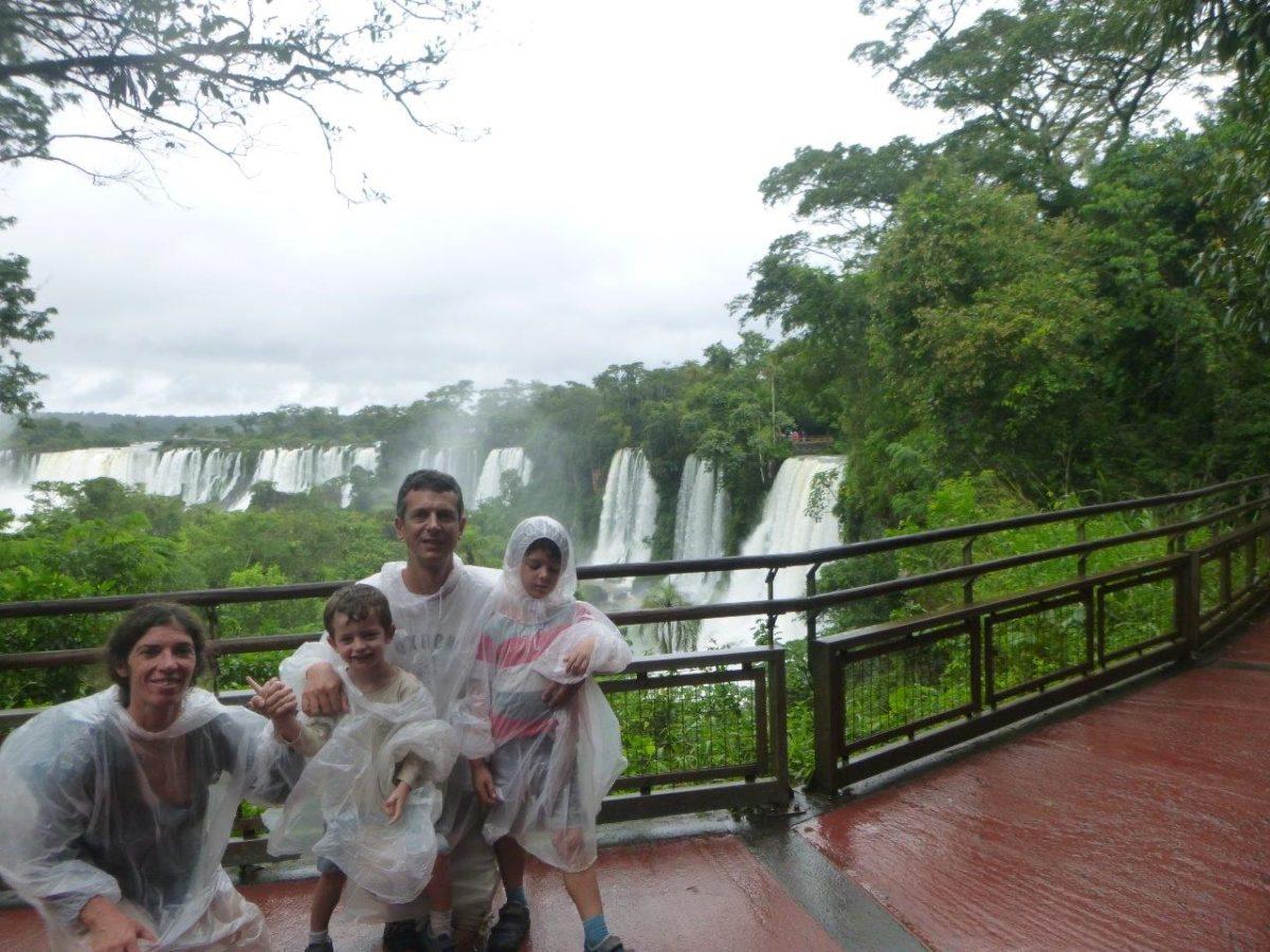 Après les Chutes d'Iguazu : la chute du plafond !!!!