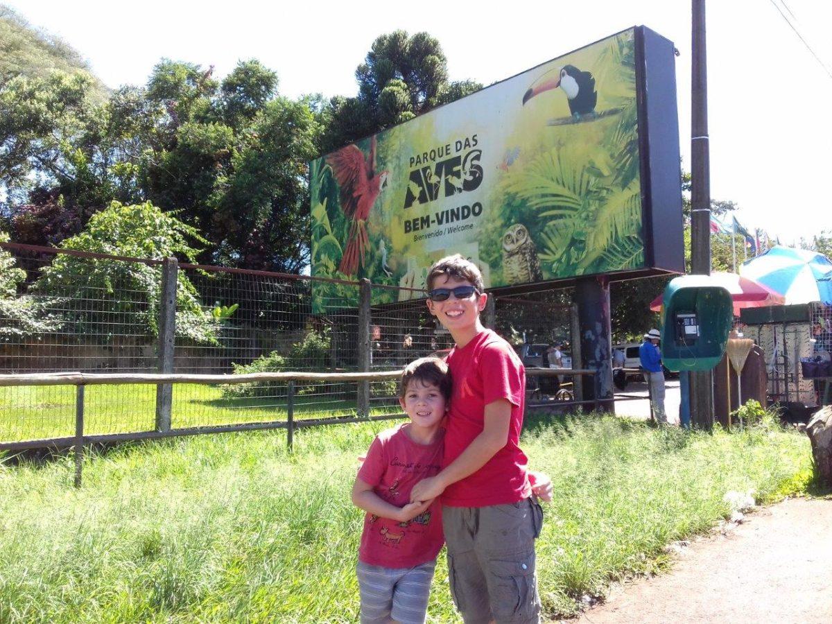 Le parc des oiseaux (Parque das Aves) Foz do Iguaçu