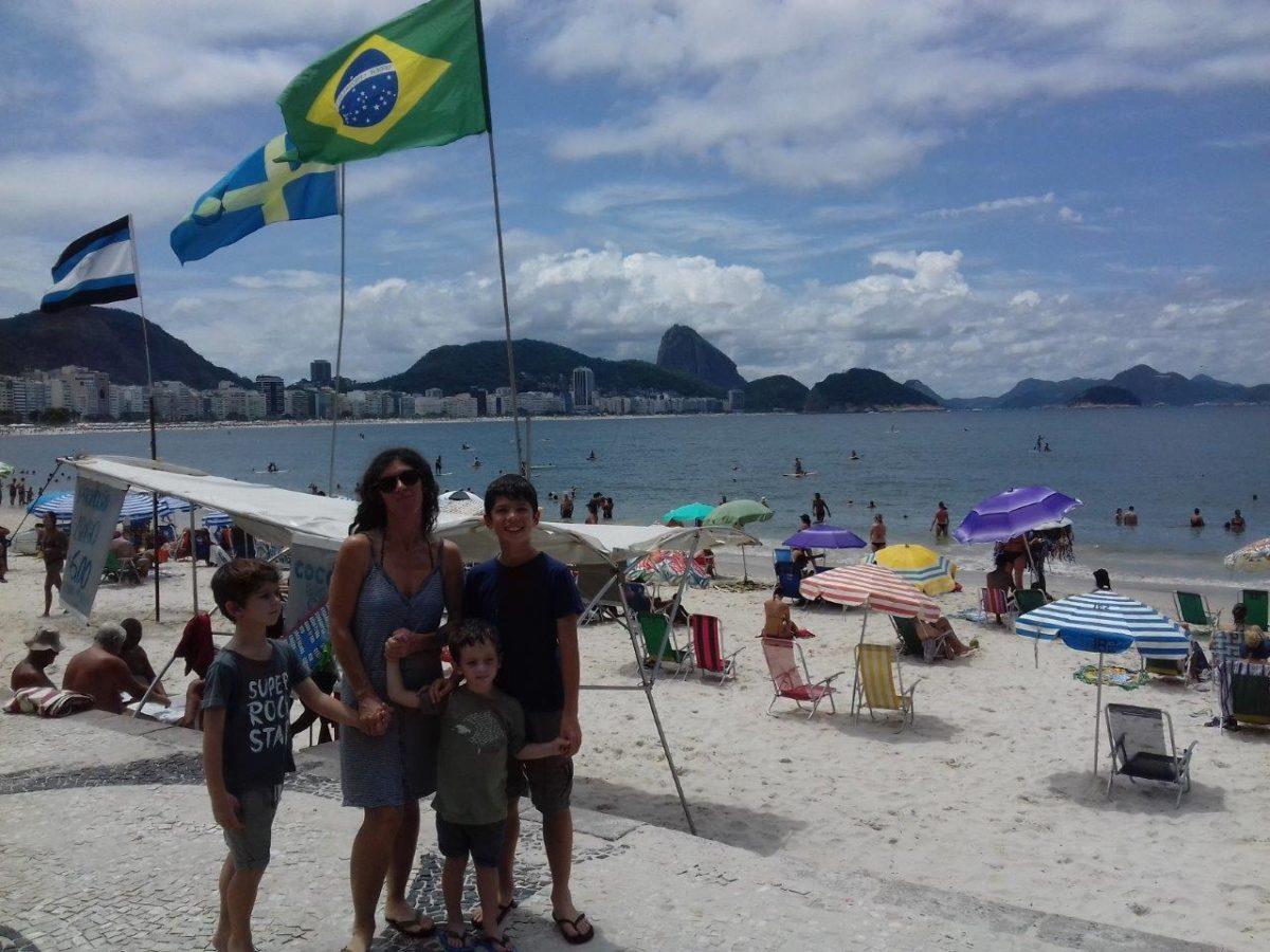 Arrivée à Rio de Janeiro… Copacabana quoi !!!!