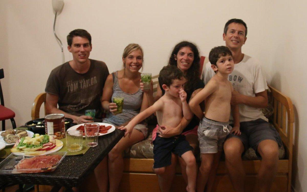 Dernière soirée à Copacabana : retrouvaille avec Hélène et Seb