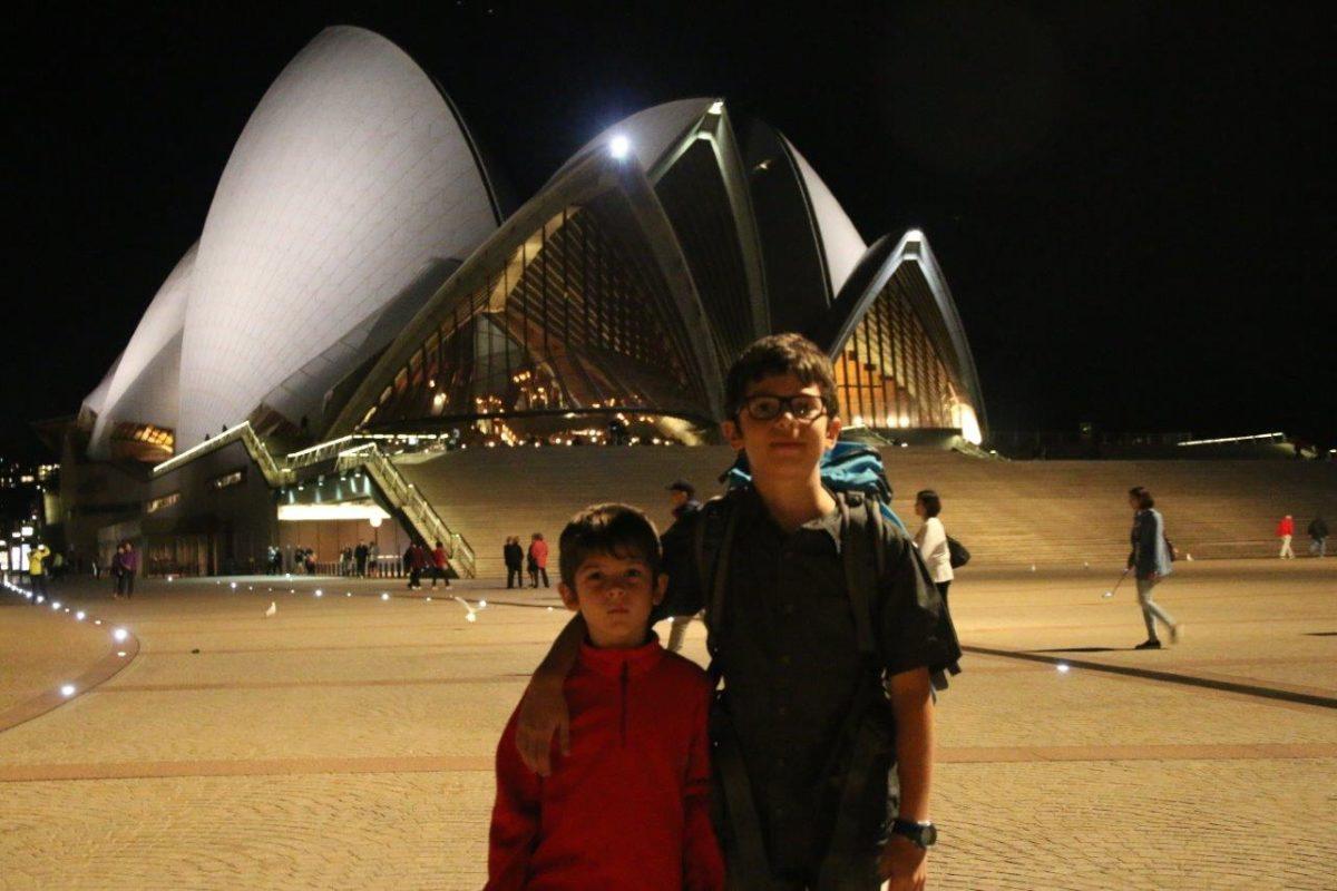 Concert de musique classique à l'Opéra de Sydney