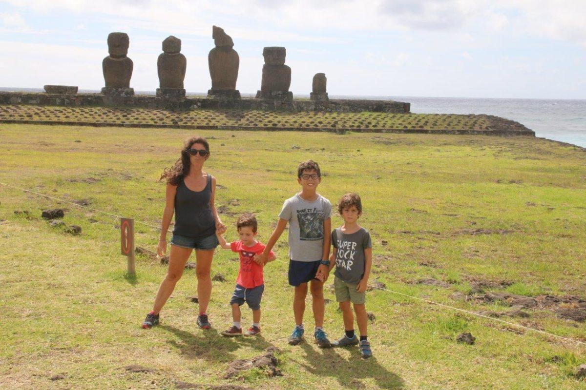 Île de Pâques (Rapa Nui) : Ahu Tahai