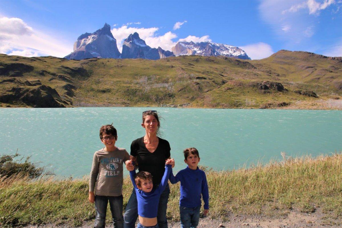 Torres del Paine et ses lacs, les cheveux au vent