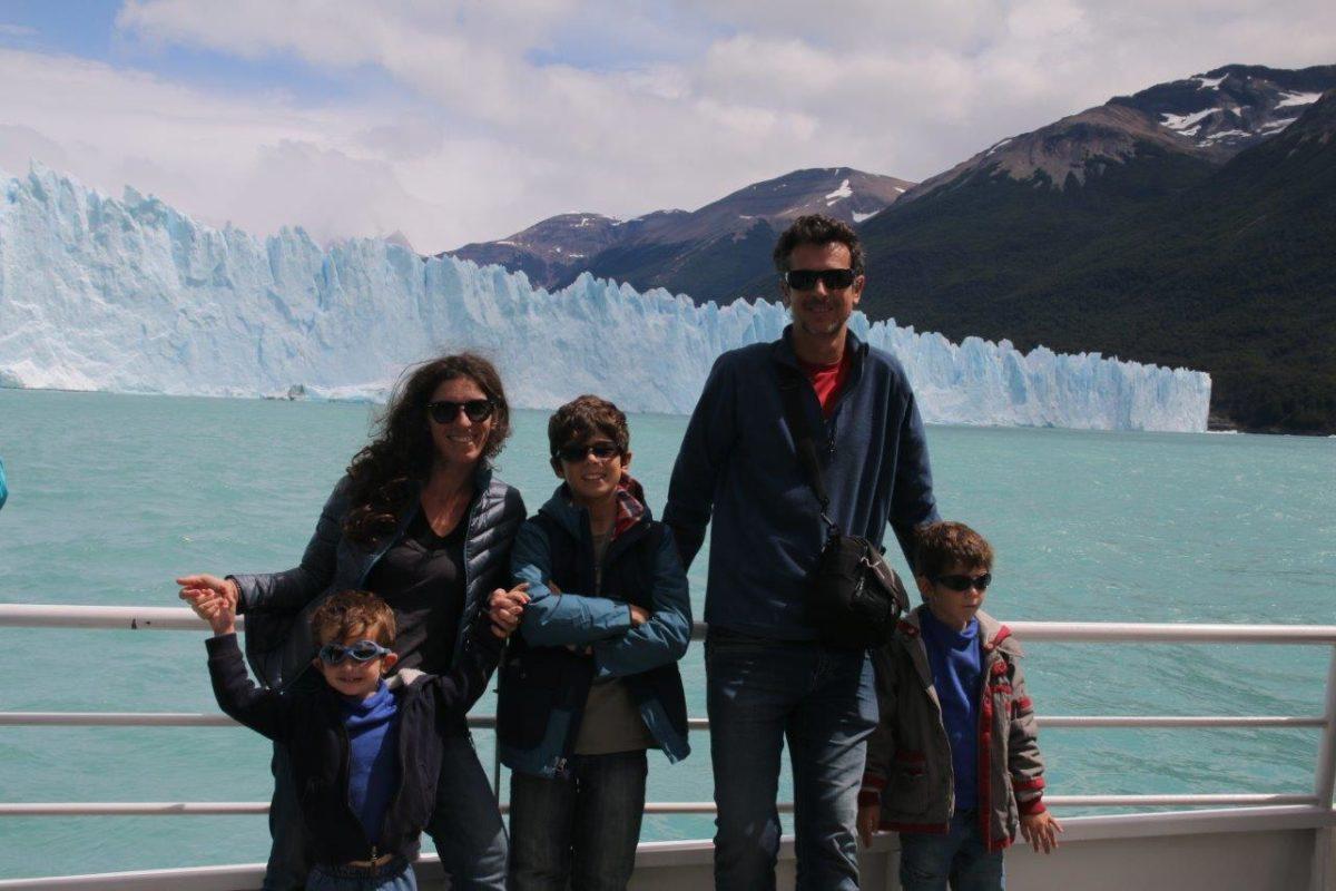 Le glacier Perito Moreno par el Lago Argentino
