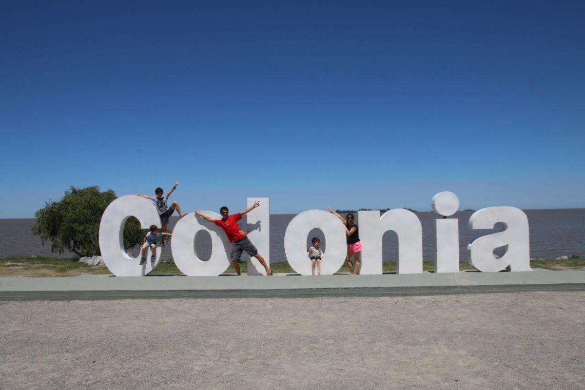 Colonia del Sacramento. Puis en route vers la Pedrera