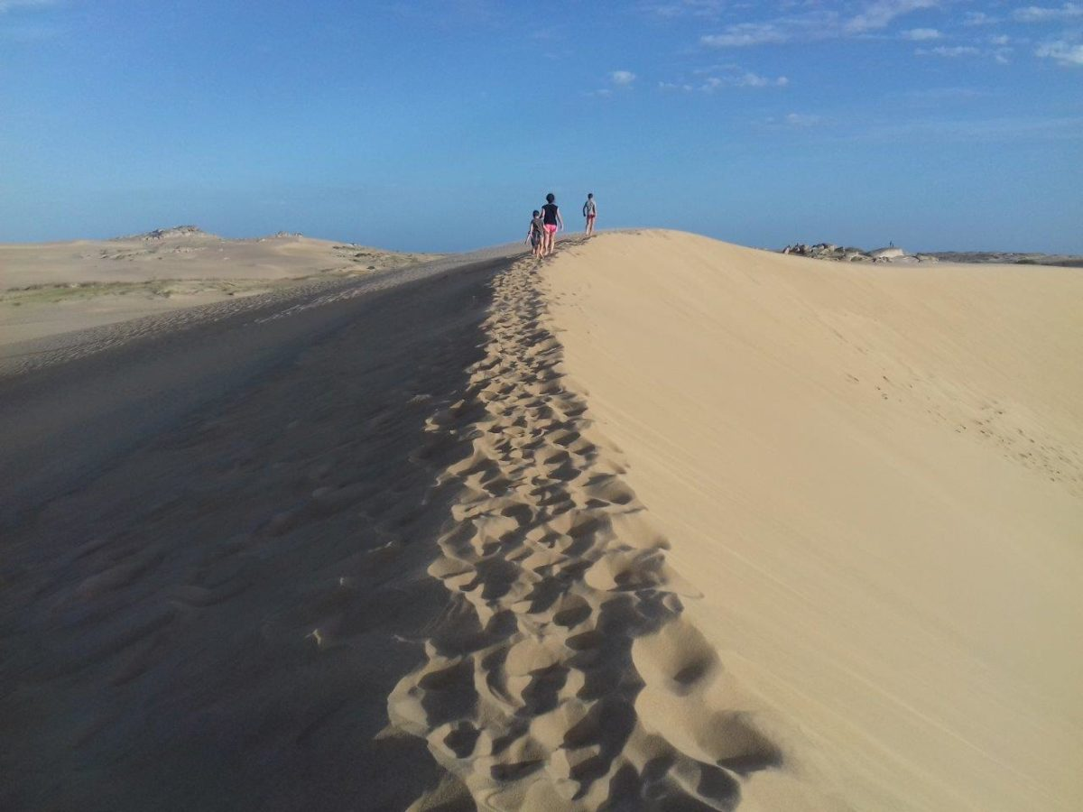 Les dunes de Cabo Polonio