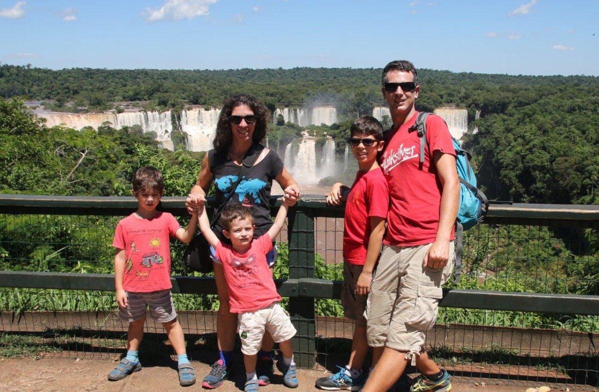 As Cataratas do Iguaçu (Les chutes d'Iguazu) côté brésilien