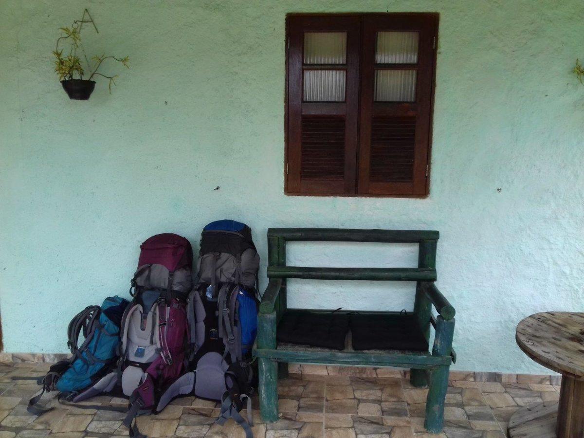 Vila do Abraão le village principal d'Ilha Grande