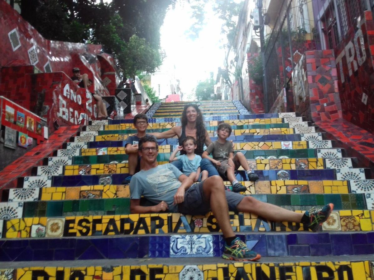 Retour à Rio de Janeiro. Lapa et Escalier Selaron